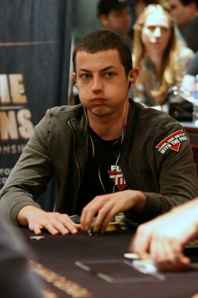 Tom Dwan frustrated after a bad beat