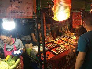 Night market Koh Samui sushi