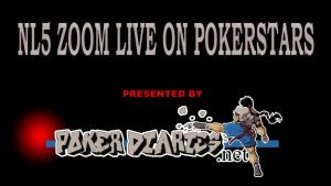 NL5 Zoom on Pokerstars – Live play video