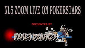NL5 Zoom on Pokerstars – Live play video
