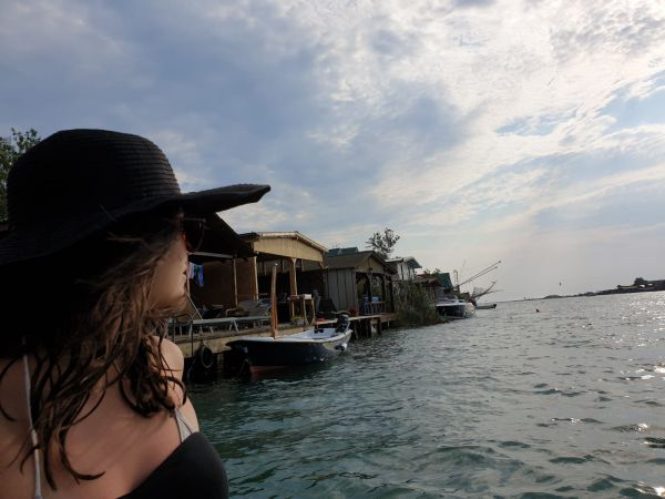 Ada Bojana beach in Montenegro