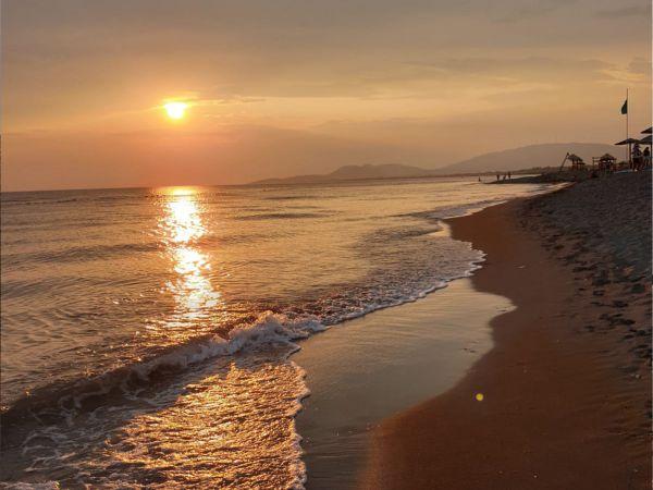 Ada Bojana sunset