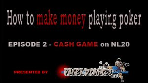 How to make money playing poker  – cash game on NL20